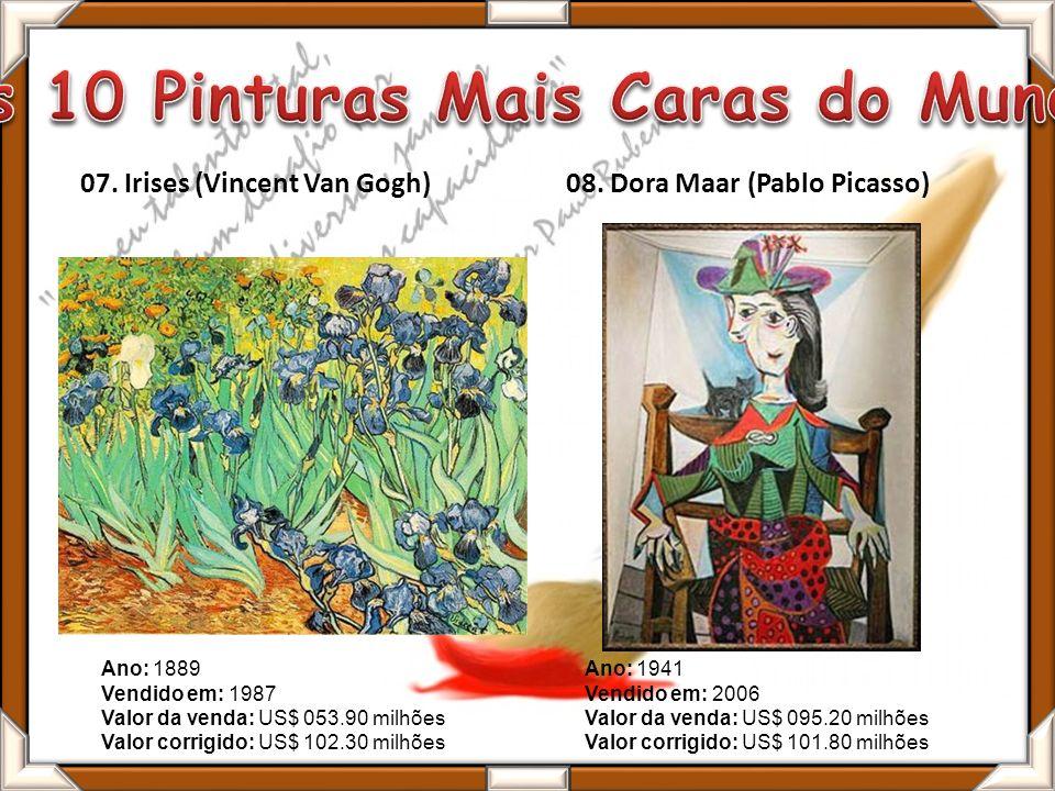 07.Irises (Vincent Van Gogh)08.