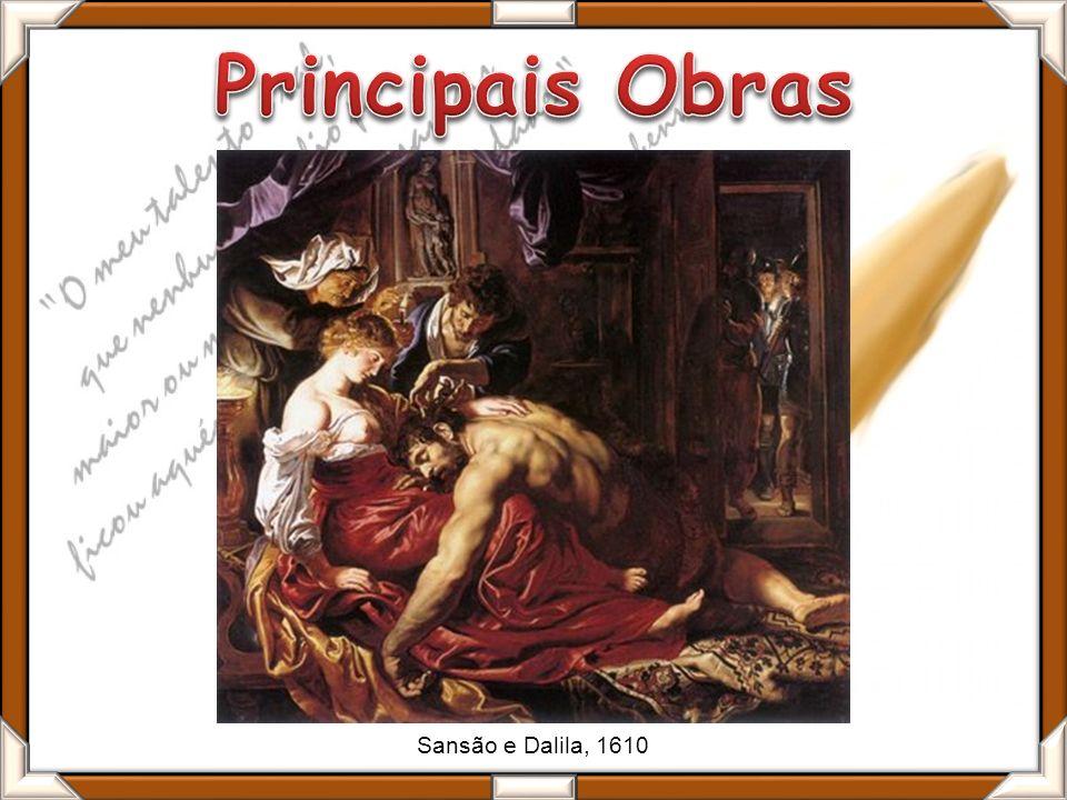 Sansão e Dalila, 1610