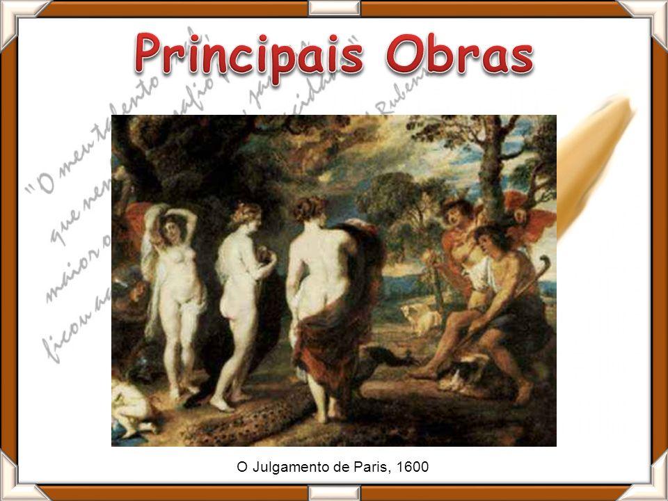 O Julgamento de Paris, 1600