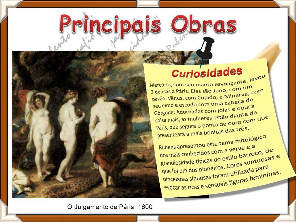 O Julgamento de Páris, 1600