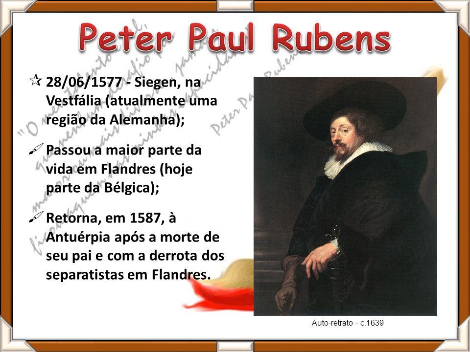 Torna-se católico em 1589, dois anos após a morte de seu pai; Forte influência da religião em muitas de suas obras; Educação de nível para Rubens e seu irmão (Philip) Philip torna-se advogado; Rubens mesmo estimulado pelo direito e pela filosofia, se interessa mais pela arte.