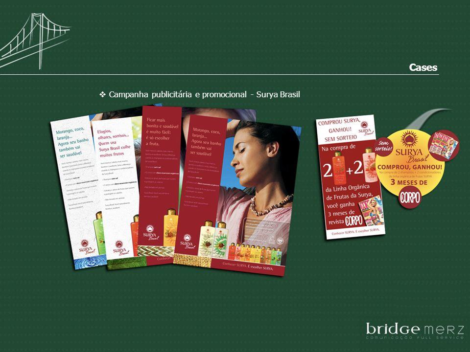 Campanha publicitária e promocional - Surya Brasil Cases