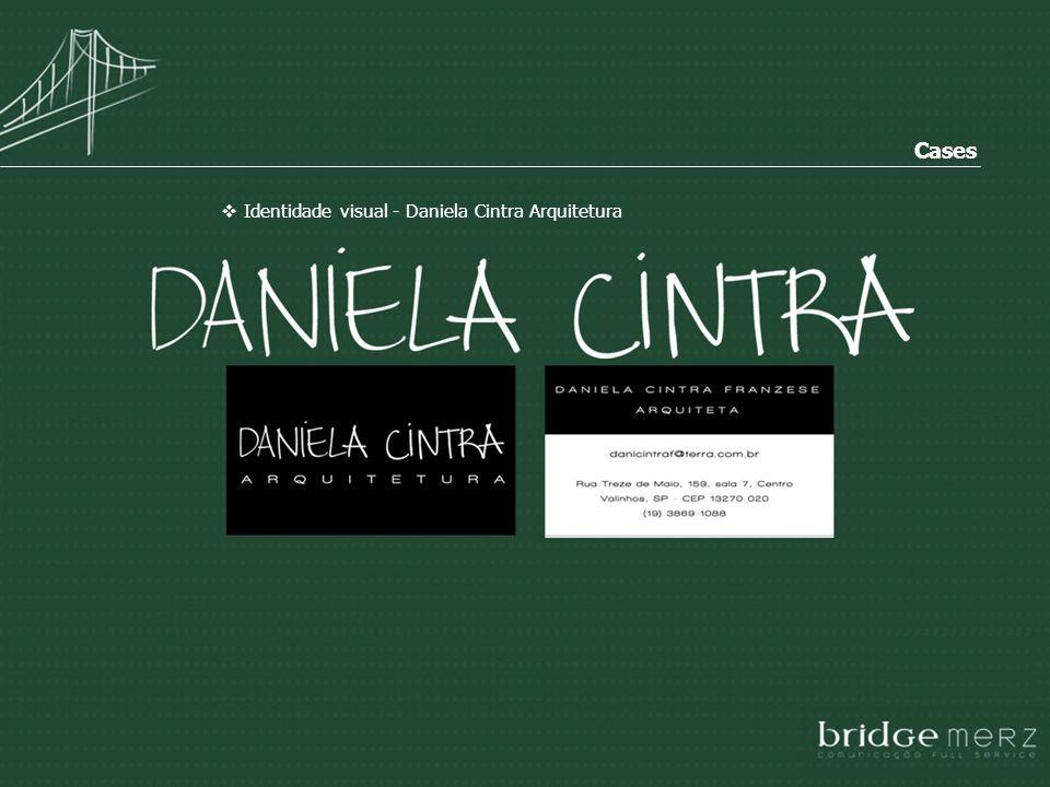 Identidade visual - Daniela Cintra Arquitetura Cases