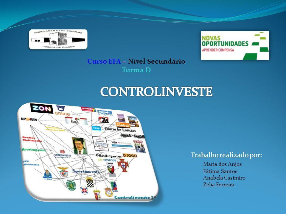 O Grupo Media Controlinveste ´É um dos maiores grupos de media em Portugal, nos sectores da imprensa, rádio, televisão e internet O grupo gere ainda um conjunto de participações em empresas na área da publicidade, comunicação multimédia, produção de conteúdos e design, telecomunicações, desporto.