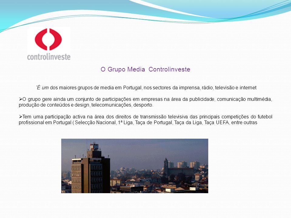 O Grupo Media Controlinveste ´É um dos maiores grupos de media em Portugal, nos sectores da imprensa, rádio, televisão e internet O grupo gere ainda u
