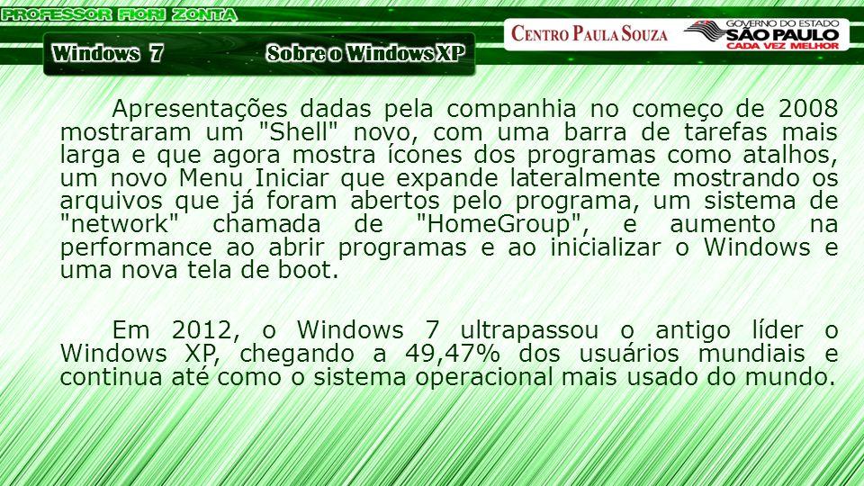 Apresentações dadas pela companhia no começo de 2008 mostraram um