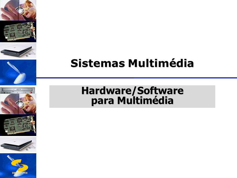 DSC/CEEI/UFCG Hardware/Software para Multimédia Sistemas Multimédia
