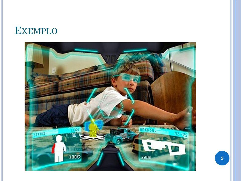 R EALIDADE A UMENTADA X R EALIDADE V IRTUAL A realidade aumentada e a realidade virtual (BIMBER, 2004) podem ser comparadas da seguinte forma: a realidade aumentada enriquece a cena do mundo real com objetos virtuais, enquanto a realidade virtual é totalmente gerada por computador; no ambiente de realidade aumentada, o usuário mantém o sentido de presença no mundo real, enquanto que, na realidade virtual, a sensação visual é controlada pelo sistema; a realidade aumentada precisa de um mecanismo para combinar o real e o virtual, enquanto que a realidade virtual precisa de um mecanismo para integrar o usuário ao mundo virtual.