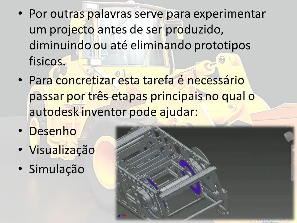 Por outras palavras serve para experimentar um projecto antes de ser produzido, diminuindo ou até eliminando prototipos fisicos. Para concretizar esta