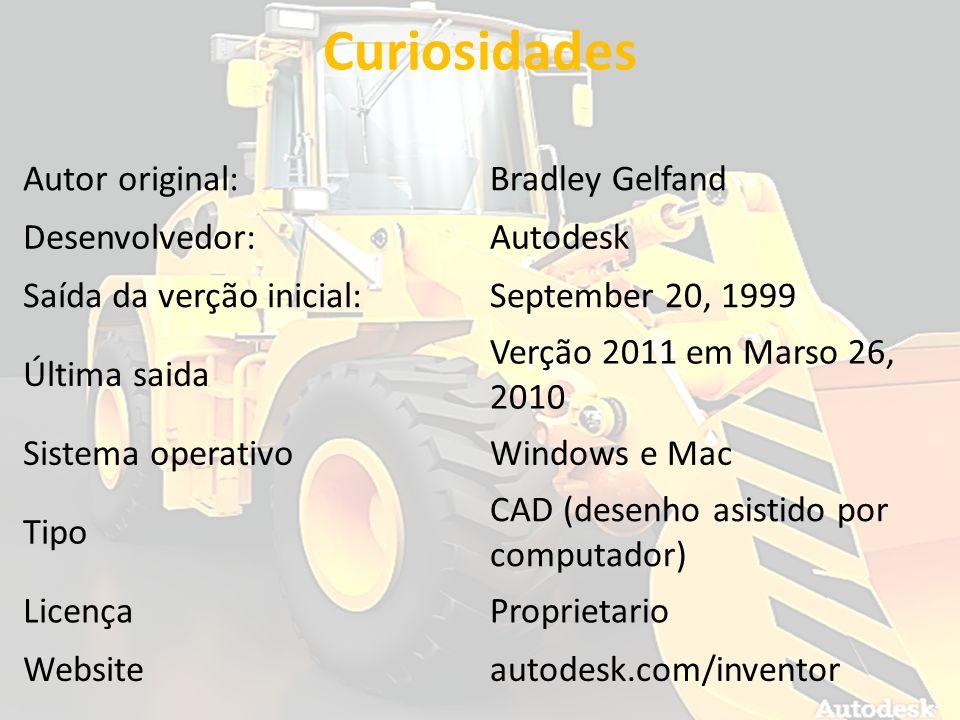 Curiosidades Autor original:Bradley Gelfand Desenvolvedor:Autodesk Saída da verção inicial:September 20, 1999 Última saida Verção 2011 em Marso 26, 20