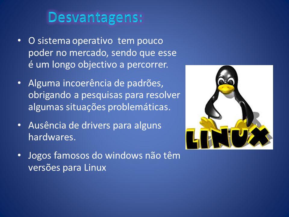 O sistema operativo tem pouco poder no mercado, sendo que esse é um longo objectivo a percorrer. Alguma incoerência de padrões, obrigando a pesquisas