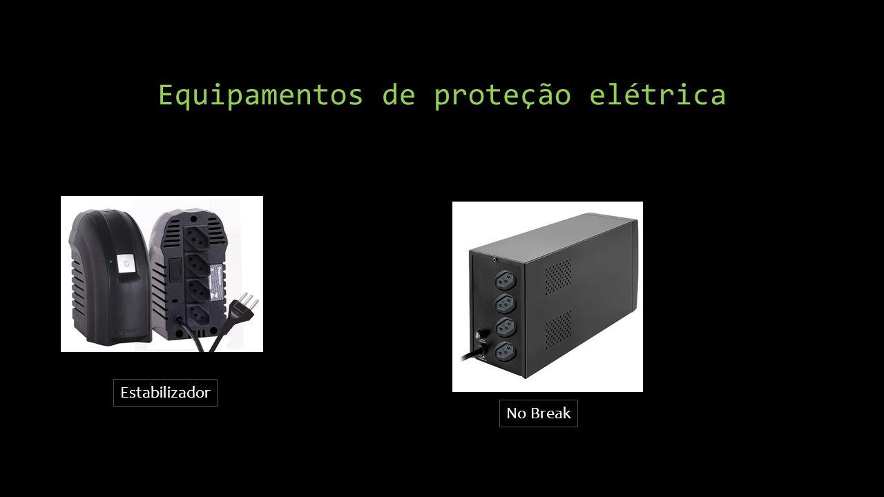 Equipamentos de proteção elétrica Estabilizador No Break