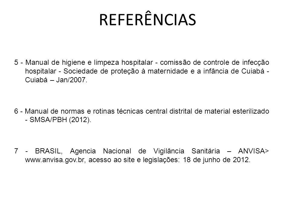 8 - Associação paulista de estudos e controle de infecção hospitalar.