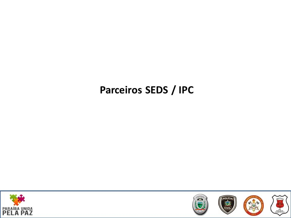 Parceiros SEDS / IPC