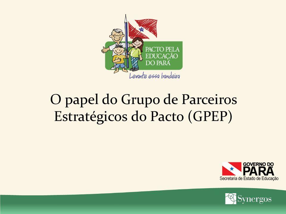 O papel do Grupo de Parceiros Estratégicos do Pacto (GPEP)