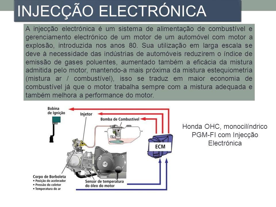 A injecção electrónica é um sistema de alimentação de combustível e gerenciamento electrónico de um motor de um automóvel com motor a explosão, introd