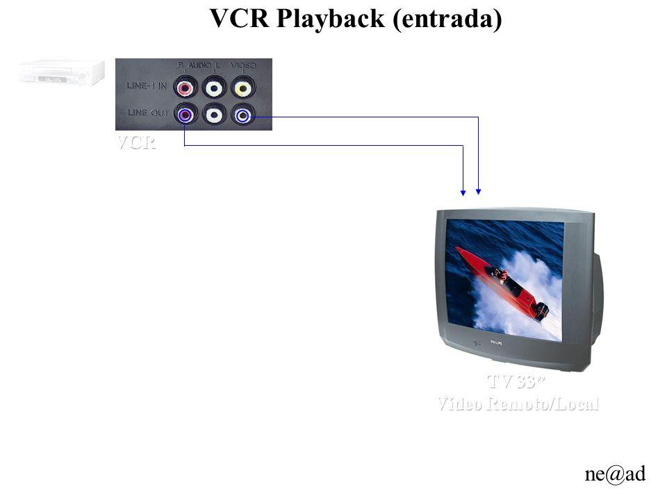 ne@ad VCR Playback (entrada)