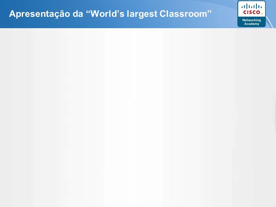 Page 5 Apresentação da Worlds largest Classroom