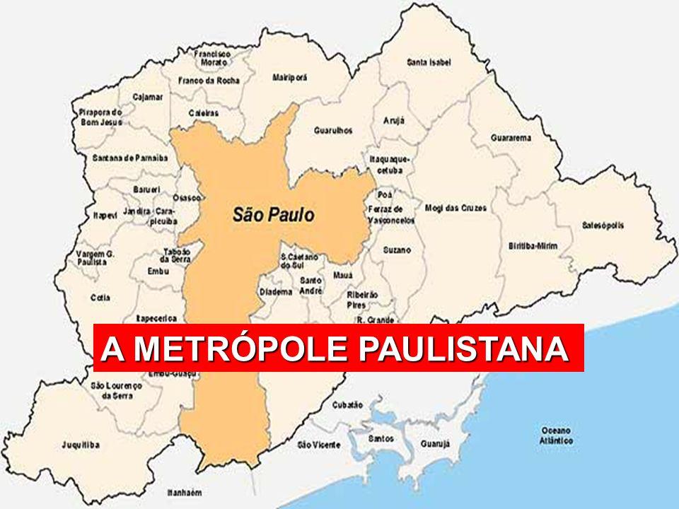 A METRÓPOLE PAULISTANA