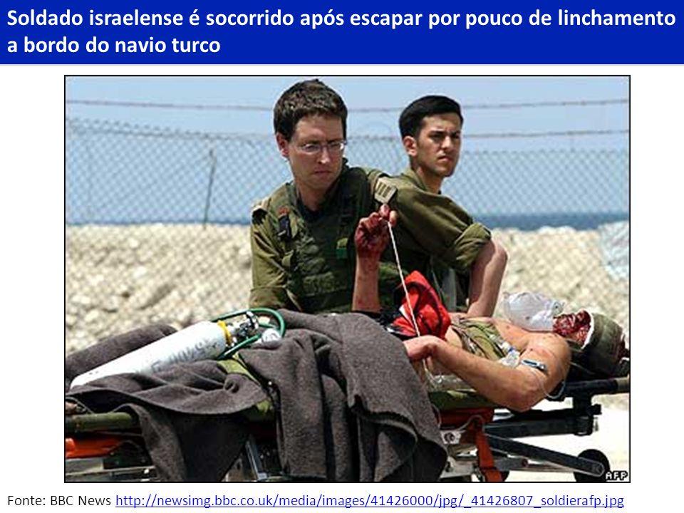 Fonte: BBC News http://newsimg.bbc.co.uk/media/images/41426000/jpg/_41426807_soldierafp.jpghttp://newsimg.bbc.co.uk/media/images/41426000/jpg/_4142680