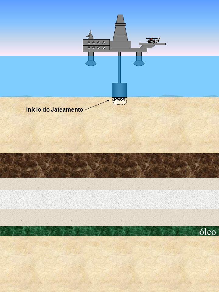óleo Início do Jateamento