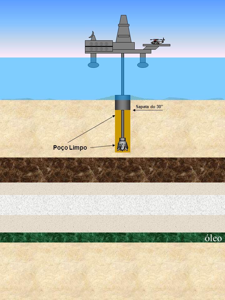 óleo Poço Limpo Sapata do 30