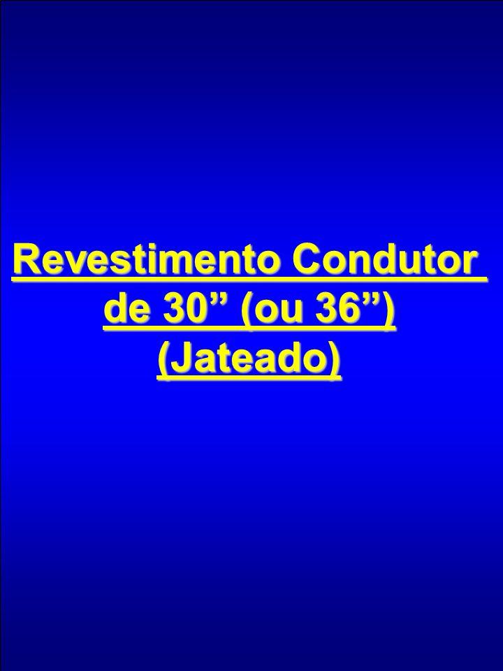 Revestimento Condutor de 30 (ou 36) (Jateado)
