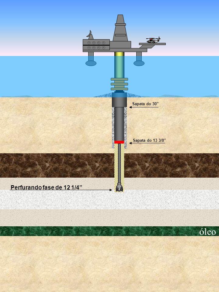 óleo Sapata do 30 Perfurando fase de 12 1/4 Sapata do 13 3/8