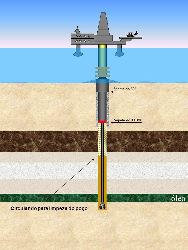 óleo Sapata do 30 Circulando para limpeza do poço Sapata do 13 3/8