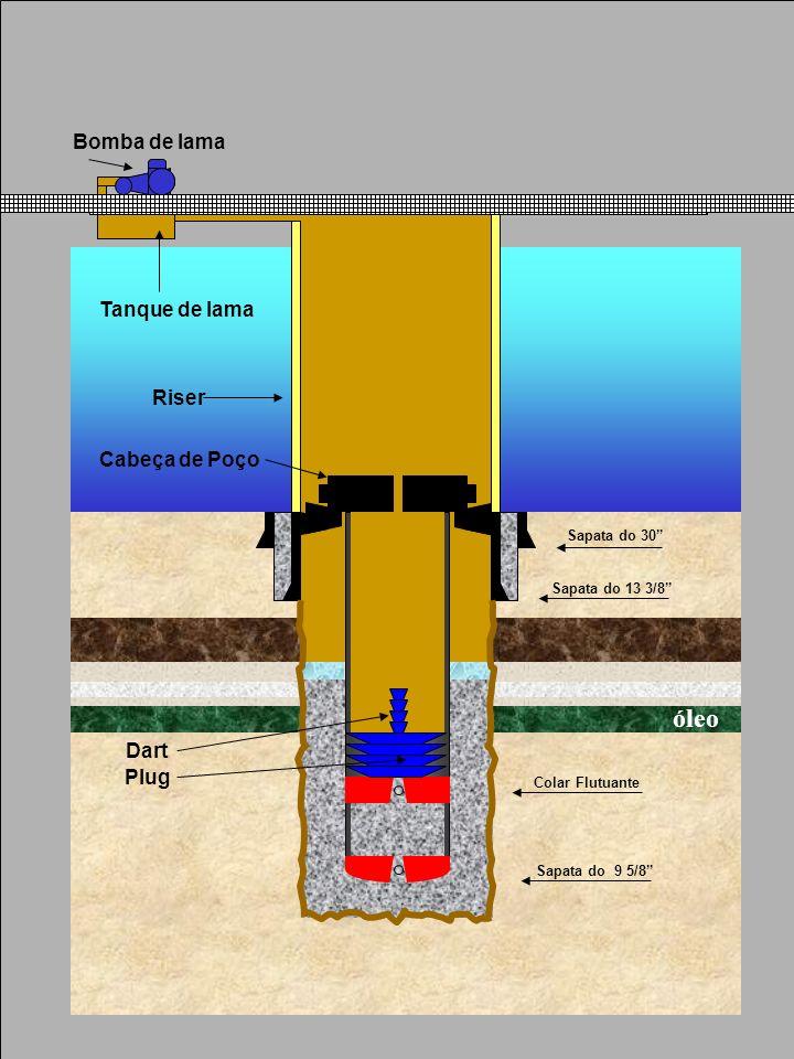 Sapata do 30 Sapata do 13 3/8 Sapata do 9 5/8 Plug Dart Colar Flutuante Riser Cabeça de Poço Bomba de lama Tanque de lama óleo