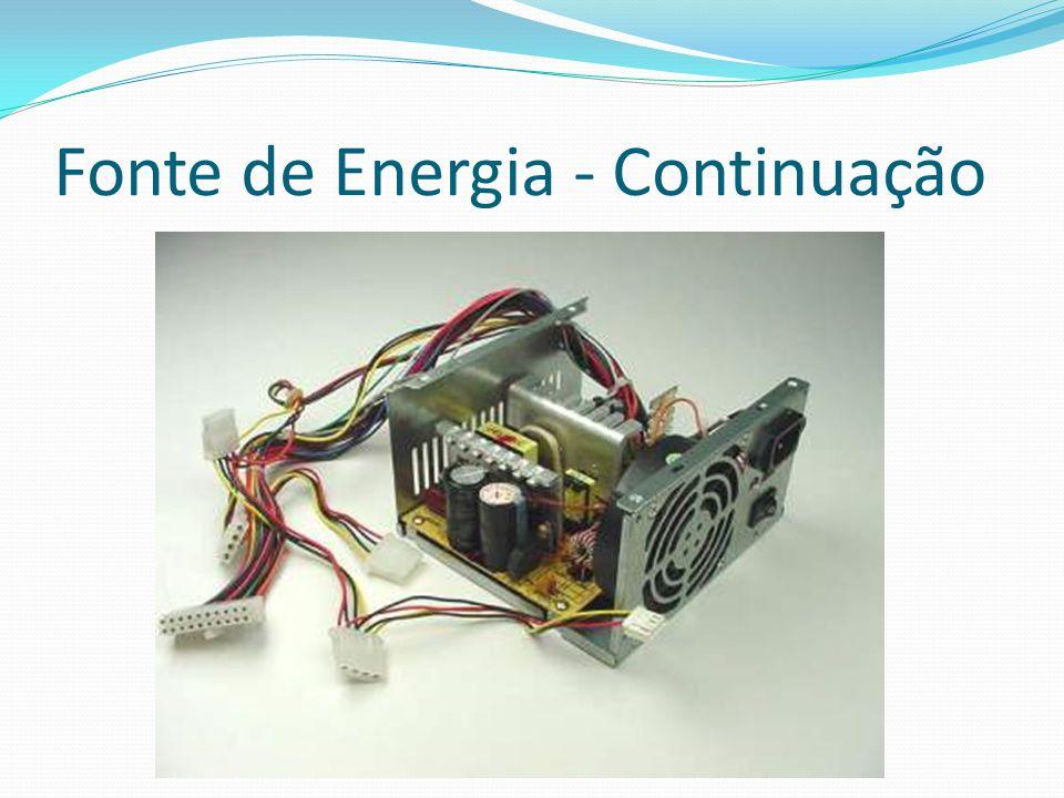 Fonte de Energia - Continuação