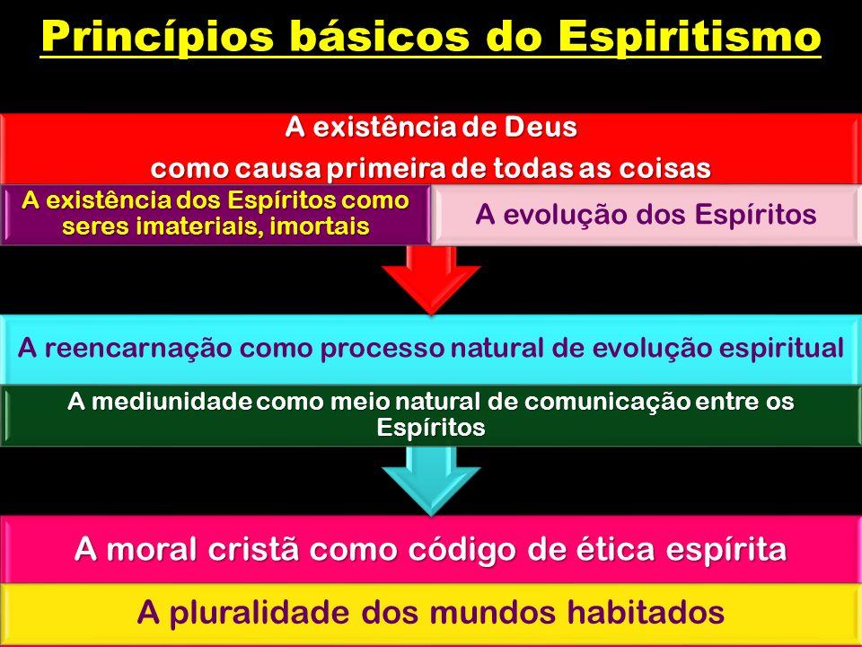 A moral cristã como código de ética espírita A pluralidade dos mundos habitados A reencarnação como processo natural de evolução espiritual A mediunid