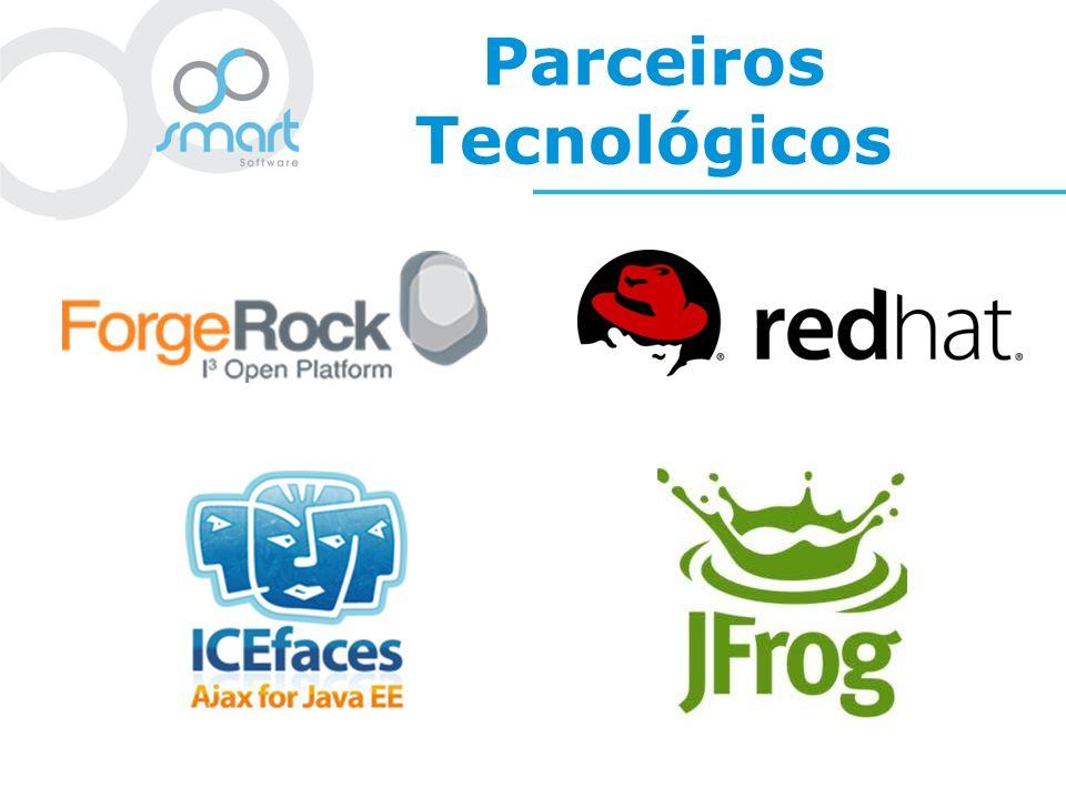 A Smart Software InovaçãoInovação Paixão pela Tecnologia Tecnologia Transparência com o Cliente Transparência Ferramentas on-line para acompanhamento de projetos e abertura de chamados Centro de excelência em contato direto com as novidades tecnológicas Participação ativa na comunidade, contribuição em projetos open source e palestras em eventos técnicos