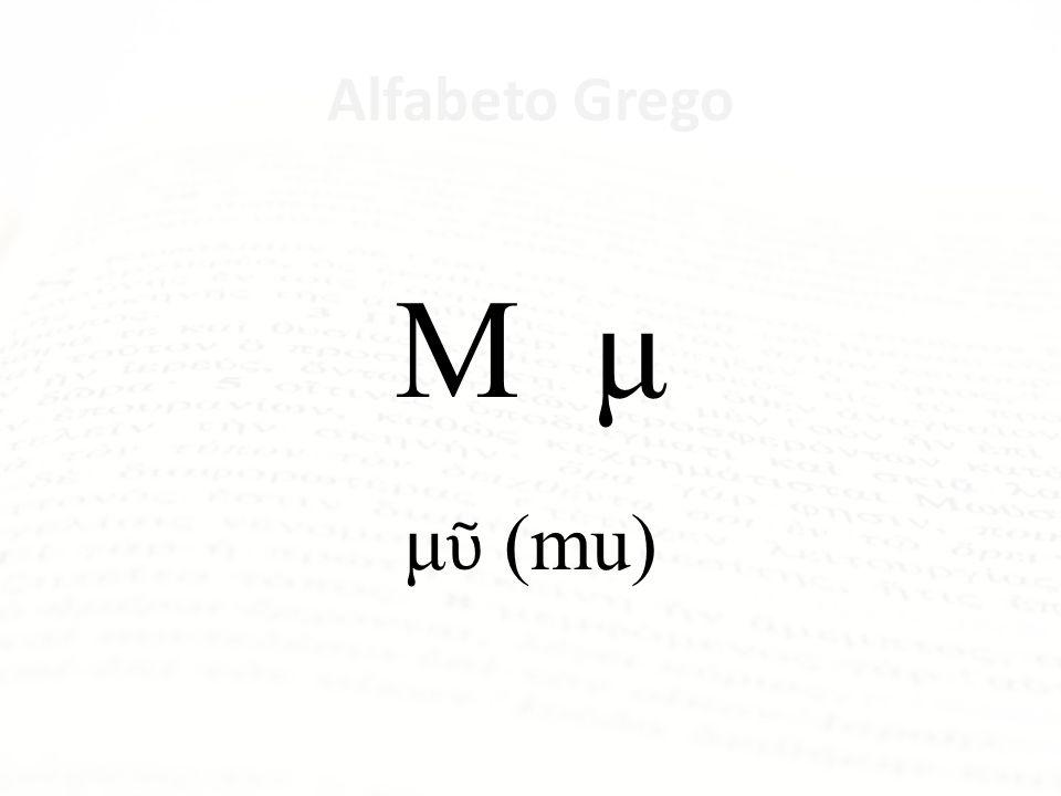 Alfabeto Grego Λ λ λάμβδα (lambda)