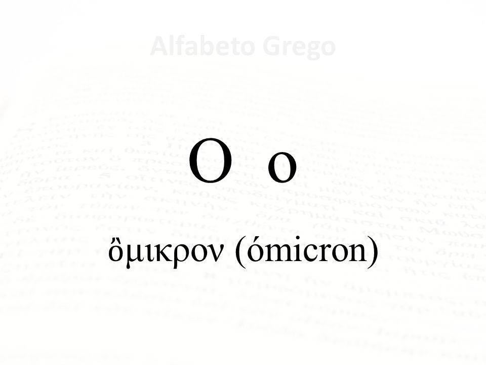 Alfabeto Grego Ξ ξ ξ (ksi)