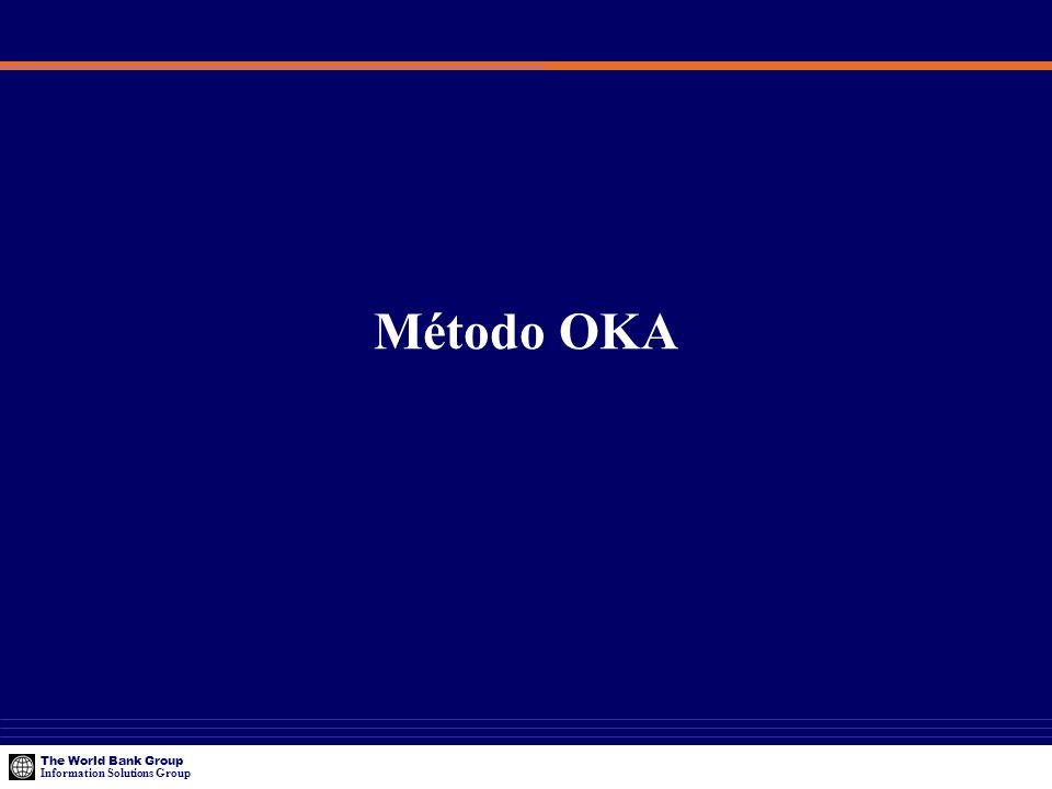The World Bank Group Information Solutions Group Método OKA