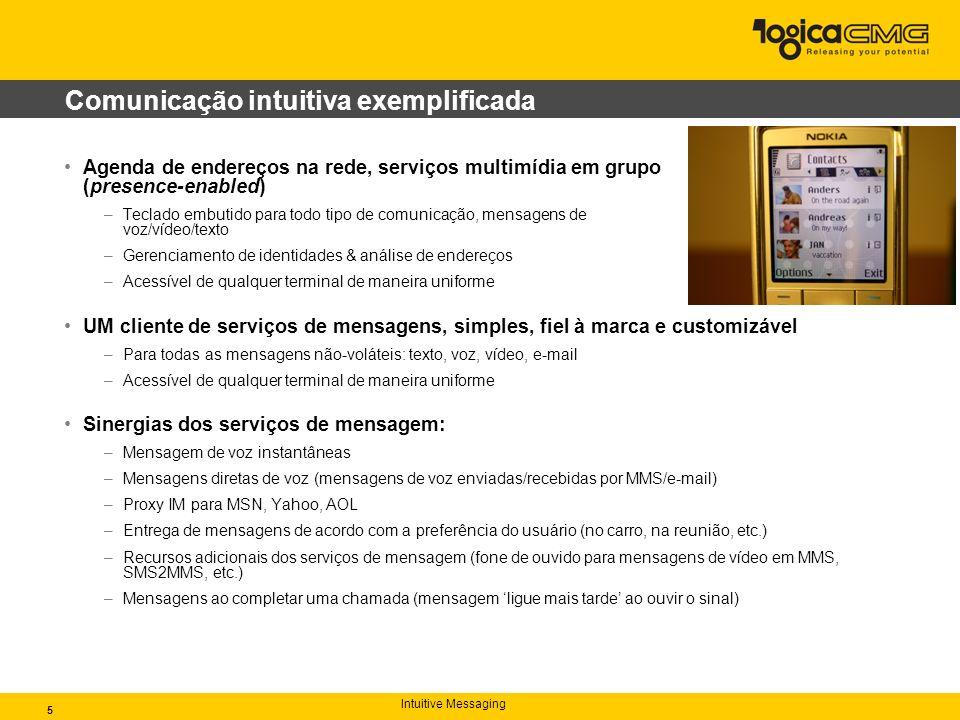 Intuitive Messaging Entre em contato Entre em contato conosco para saber tudo o que o nosso IMS pode fazer por você e por sua empresa: ims@logicacmg.com