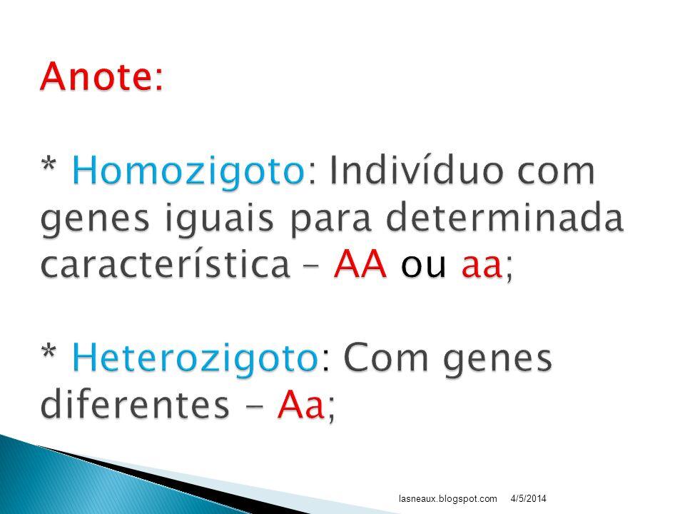 4/5/2014www.biologiafacil.v10.com.br 8 – Homozigoto Quando possui alelos iguais para determinada característica 9 – Heterozigoto Quando possui alelos