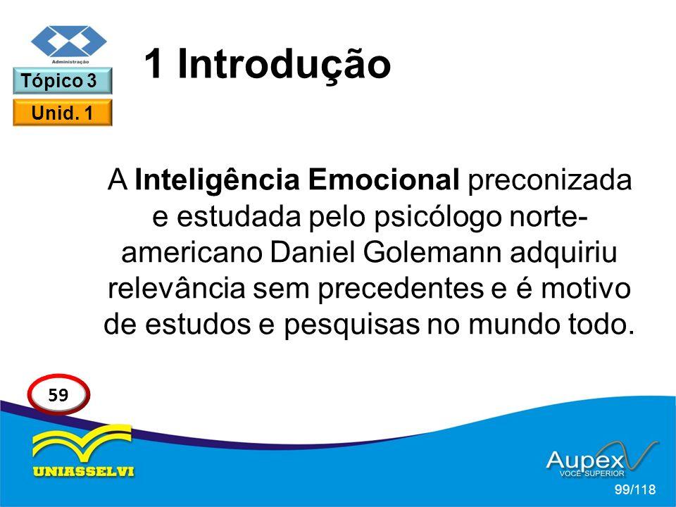 A Inteligência Emocional preconizada e estudada pelo psicólogo norte- americano Daniel Golemann adquiriu relevância sem precedentes e é motivo de estudos e pesquisas no mundo todo.