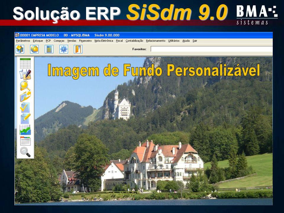 Solução ERP SiSdm 9.0