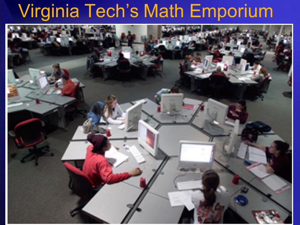 Virginia Techs Math Emporium