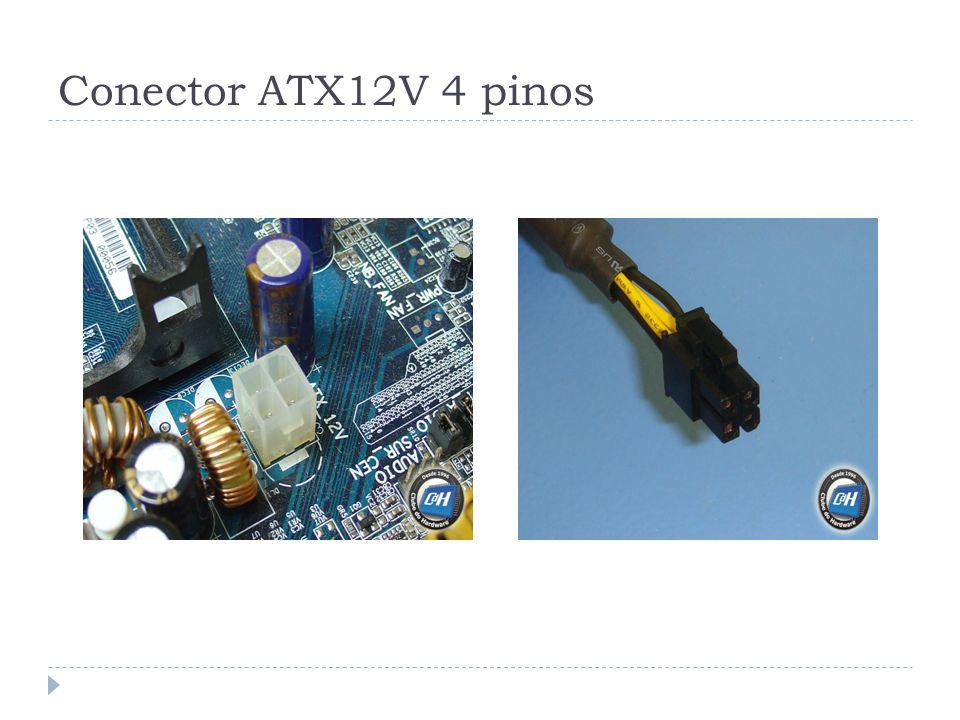 Conector ATX12V 4 pinos
