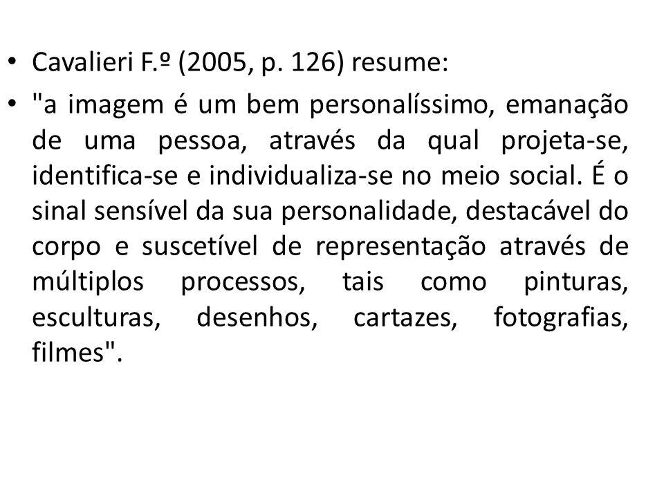 Cavalieri F.º (2005, p. 126) resume: