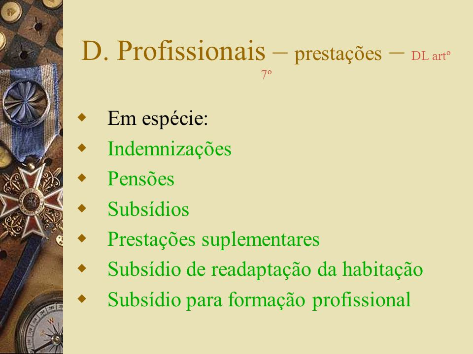 Doenças Profissionais Reparação: – identificação do risco causal – constituição do processo clínico – participação pelo Médico do trabalho