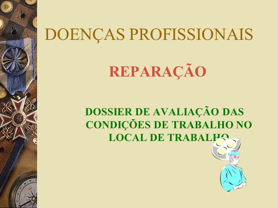 D.Profissionais – prestações – DL artº 26º Necessidade de reunir cumulativamente as seguintes condições: Estar afectado por doença profissional Ter es