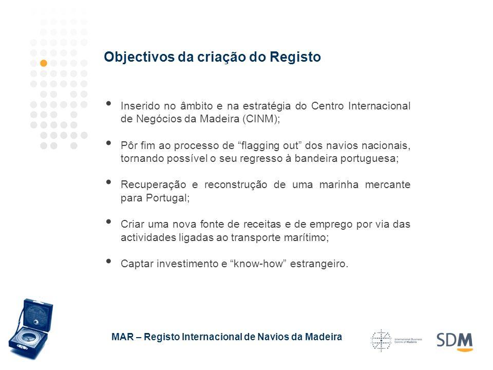 Inserido no âmbito e na estratégia do Centro Internacional de Negócios da Madeira (CINM); Pôr fim ao processo de flagging out dos navios nacionais, to