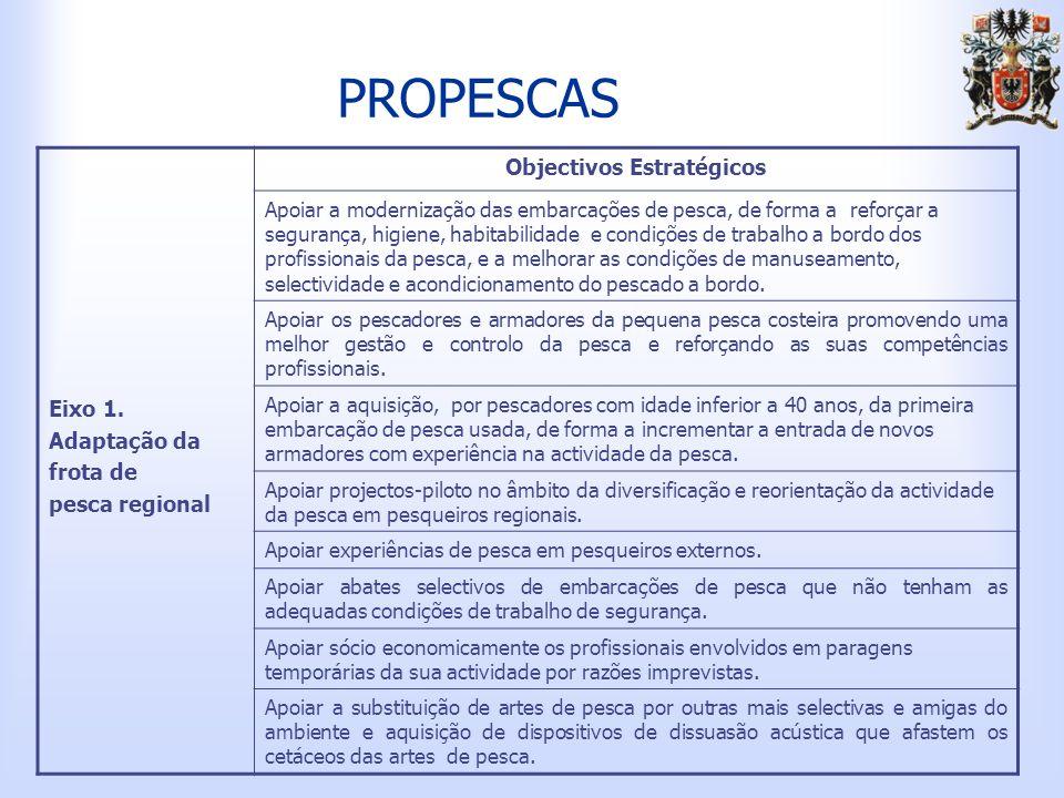 PROPESCAS Eixo 1.