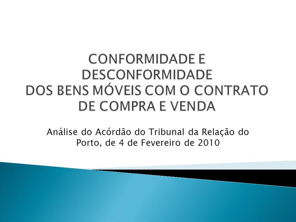 Análise do Acórdão do Tribunal da Relação do Porto, de 4 de Fevereiro de 2010