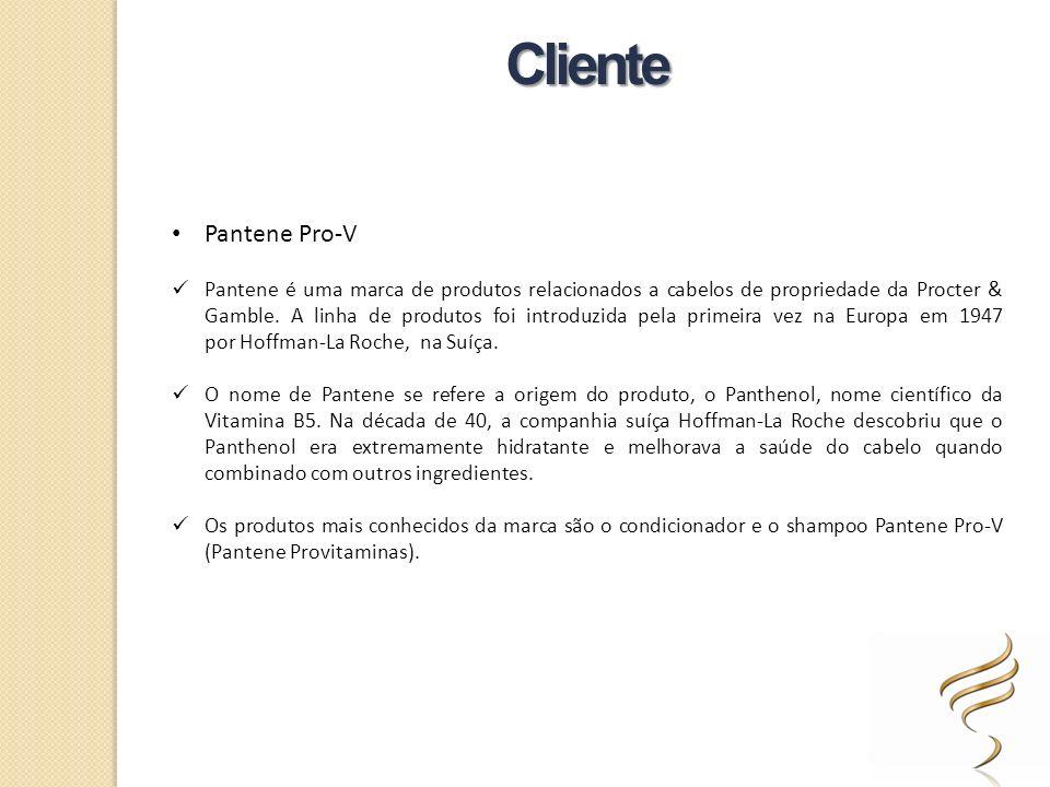 Pantene Pro-V Pantene é uma marca de produtos relacionados a cabelos de propriedade da Procter & Gamble. A linha de produtos foi introduzida pela prim