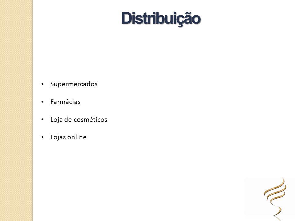 Supermercados Farmácias Loja de cosméticos Lojas online Distribuição